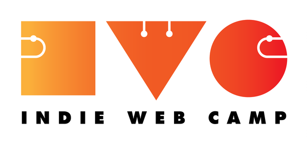 Original Indie Web Camp logo designed by Crystal Beasley